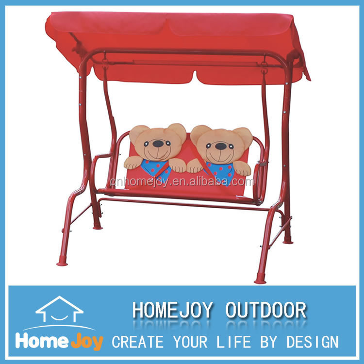 Kids 2 Person Swing With Canopy