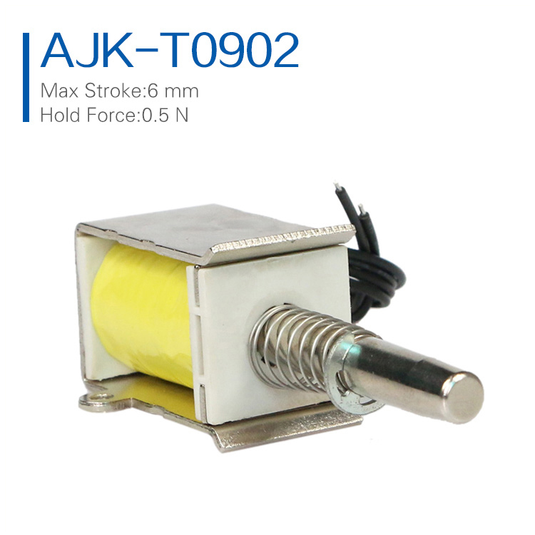 Customized Accept 24V Push Pull Solenoid Small Lock Electromagnet