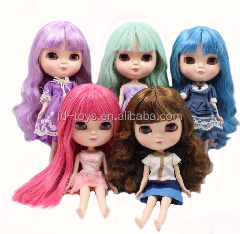 The 12 Inch Nude <strong>Doll</strong> is Similar to Blyth BJD <strong>Doll</strong>, Customized ICY <strong>Dolls</strong> Can Be Changed Makeup and Dress by DIY