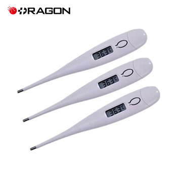 como se mide la temperatura con un termometro digital