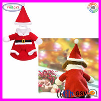 F144 Funny Pet Dog Cat Costume Clothes Christmas Dress Up Cosplay Cat Costume