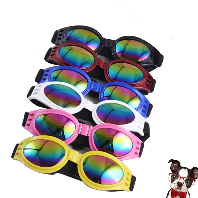 Amazon hot selling wholesale pet sunglasses pet plastic glasses