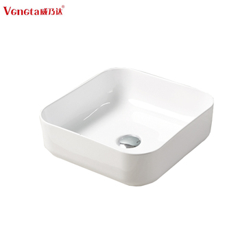 High Quality Modern Elegant Design Ceramic Thin Edge Bathroom European Sinks