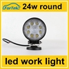 Super bright hot sale 24w led work light round cheapest price