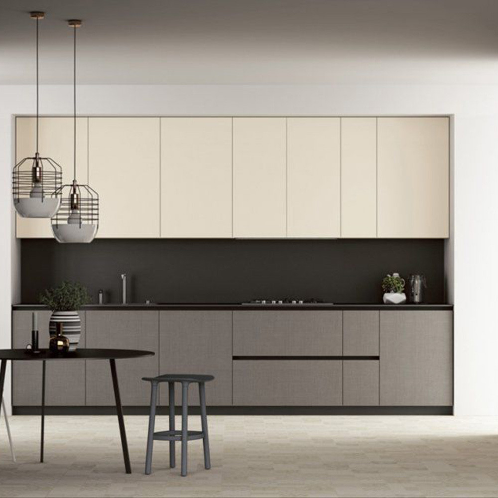 mahagony kitchen cabinet grey counter top fancy home design