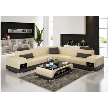 Modern Corner Units Sectional Leather