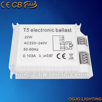 32w t5 electronic ballast for circular fluorescent lamp CE CB EEI=A2 EMC