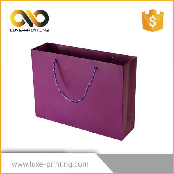 Large pictures printing non woven shopping paper bag craft