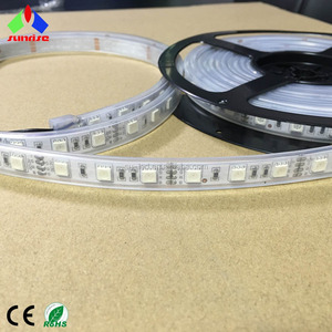 Shen Zhen LED Supplier Remote Control Multi Color RGB LED Stripe for Outdoor Decorations