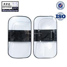 low price high quality PC material polycarbonate sheet anti riot shield