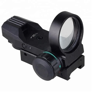 GSP0020RG--Holographic Laser Sight 33mm Scope Reflex 4 Red Green Dot Reticle
