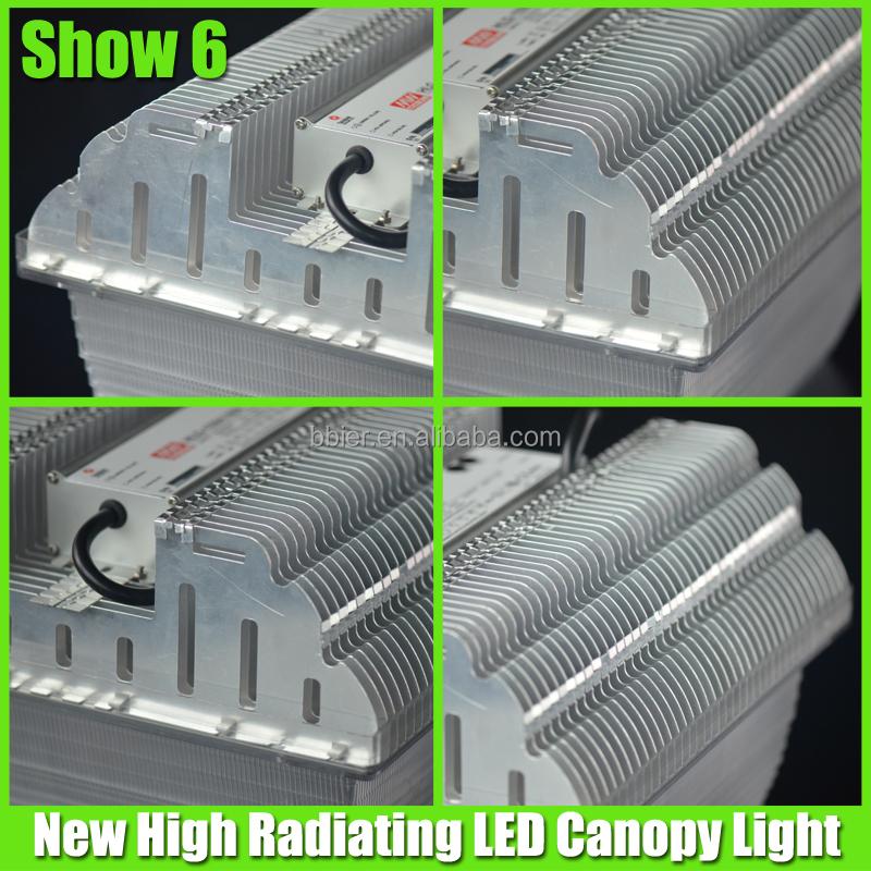 100w Led Car Parking Canopy Light For Usa Market