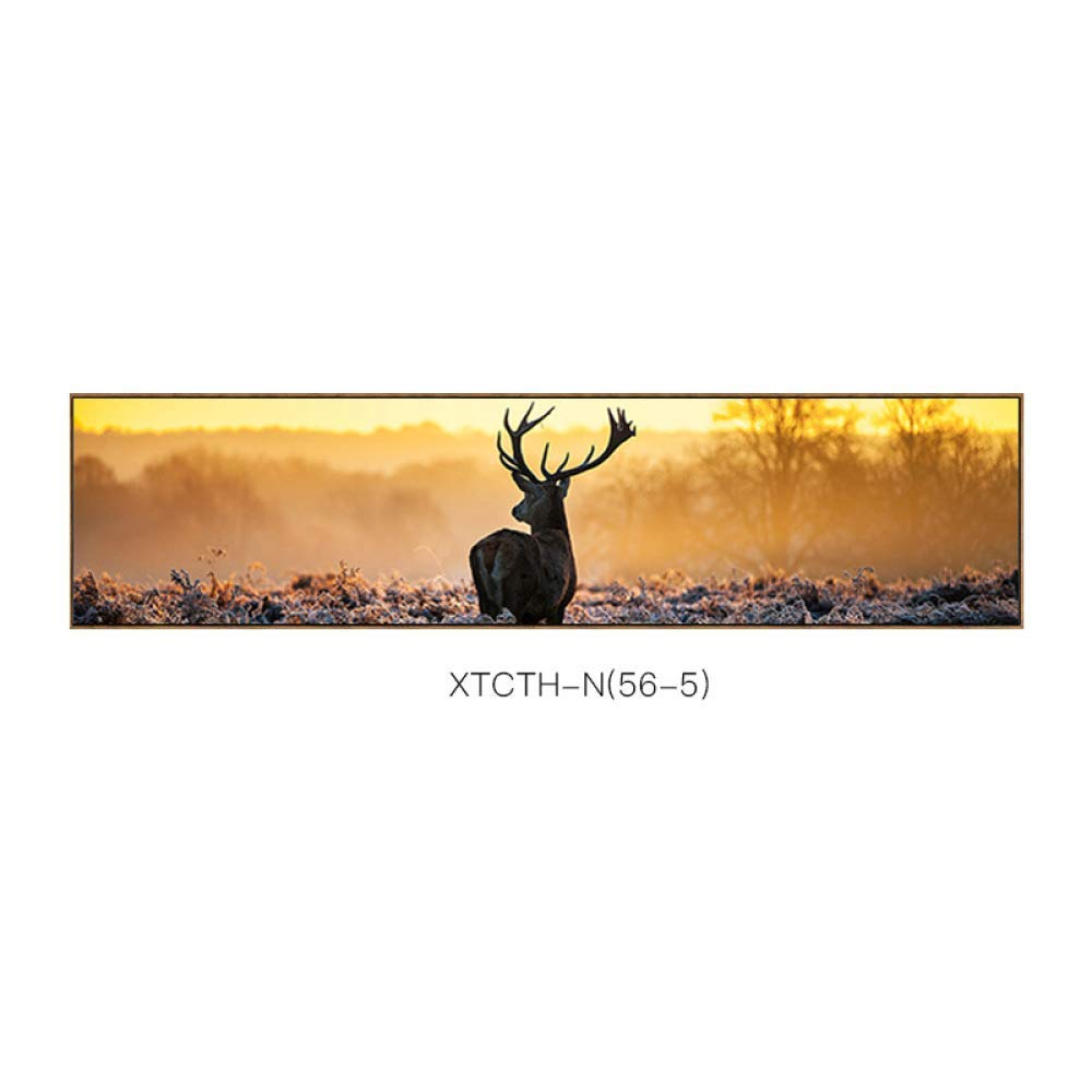 DEED Forest elk Bedside Painting, Decorative Painting, New Chinese Animal Pattern Gift Style Home Bedroom Frame Painting