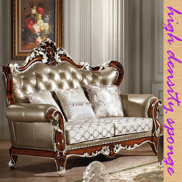 Best Ing British Sofa Luxury Living Room Genuine Leather Exclusive With Silver Foil