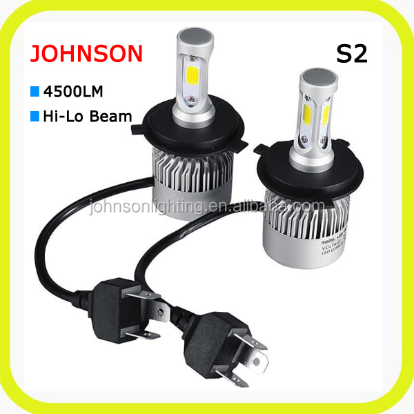 auto headlight h13 led hb3 hb4 h1 h3 h4 h7 h11 bulbs 60w 6000lm led headlight waterproof canbus