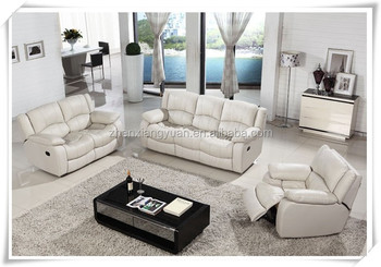 Excellent White Leather Recliner Sofa Leather Sofa Home Furniture Buy Foshan City Furniture Manufacturers Furniture Living Room Sofa Set Dubai Recliner Pdpeps Interior Chair Design Pdpepsorg