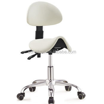 Chair Swivel Saddle Leather Work