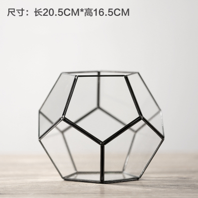 Vintage Copper Portable lantern Geometric Lantern Candle Holder For Wedding Home Decoration 11