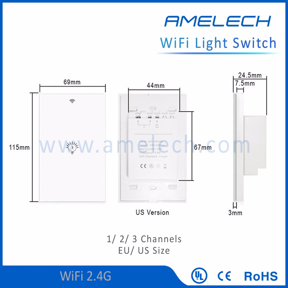 Light Switch With Led Backlight And Indicator 2 Way Suppliers Manufacturers At