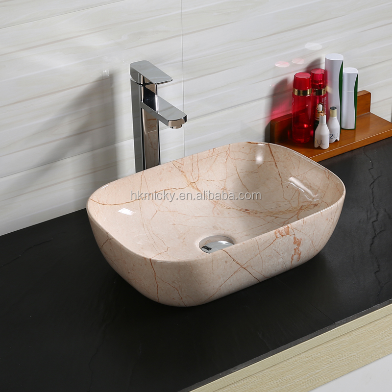 Lavabo Ceramic Granite Sink Washing Hands Basin Bowl Ceramic