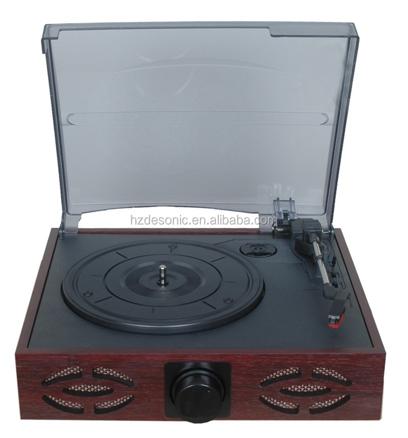 2016 new guangdong vinyl records production ,PC link-recording record player