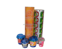 roll type peelable aluminum foil yogurt cover