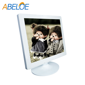 17 inch white hospital lcd monitor wide angle medical lcd monitor