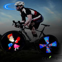 2015 Hot New Products 4 root lamps Bicycle Wheel Light LED hot wheels bycicle accessories