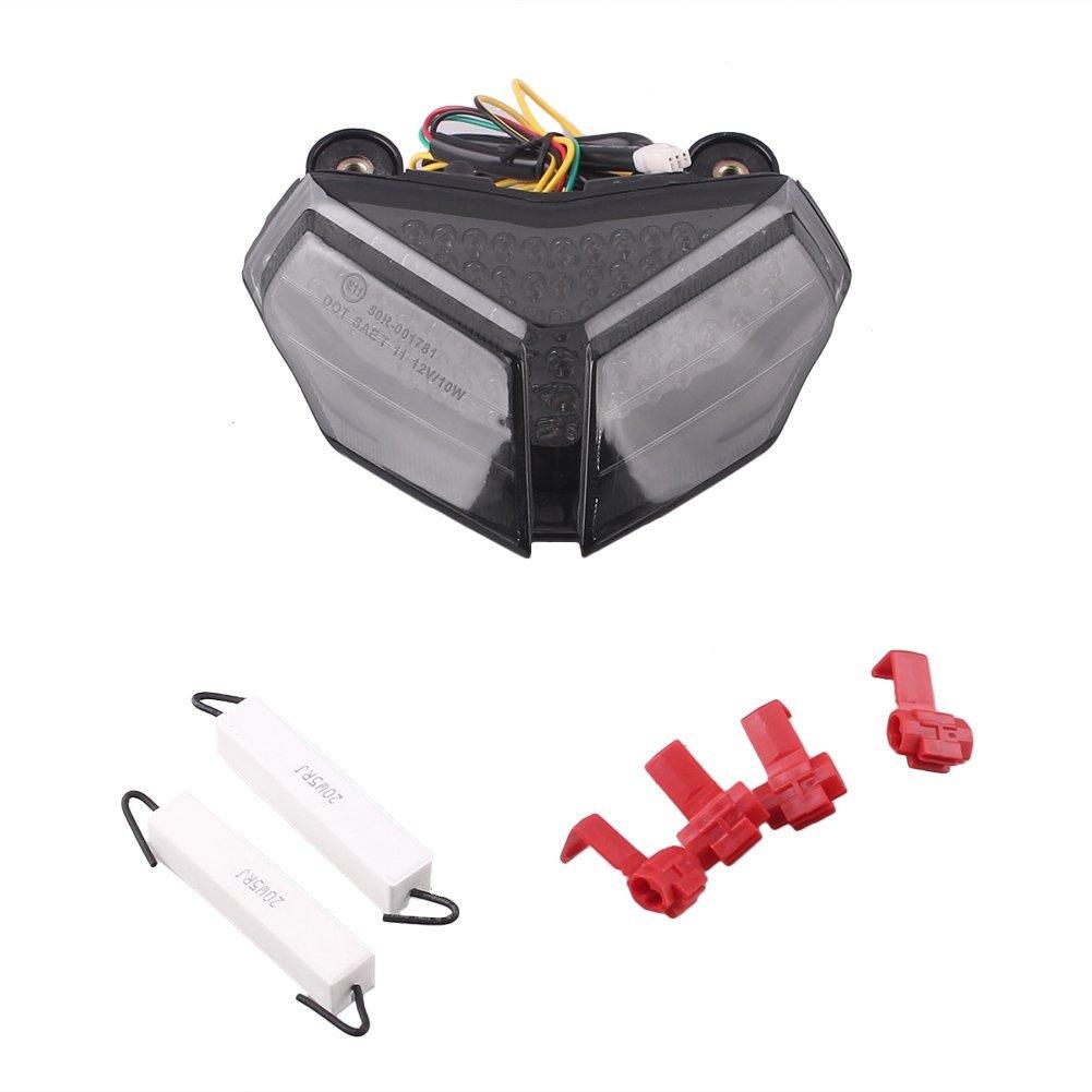 GZYF LED integrated Taillight Turn Signals For DUCATI 1198/R/CORSE 2009-2010 & DUCATI 848 2008-2010 & DUCATI 1098/R/S 2007-2010
