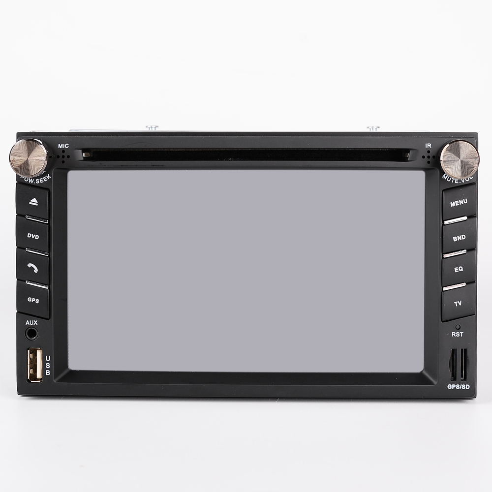 "Double DIN 2 Din 6.2"" dash Car Stereo CD DVD Player GPS FM Stereo Radio Receiver USB Port and SD Card Slot Bluetooth"