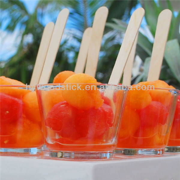 Hot Selling Biodegradable Sanitary Sterile Ice Sucker Sticks