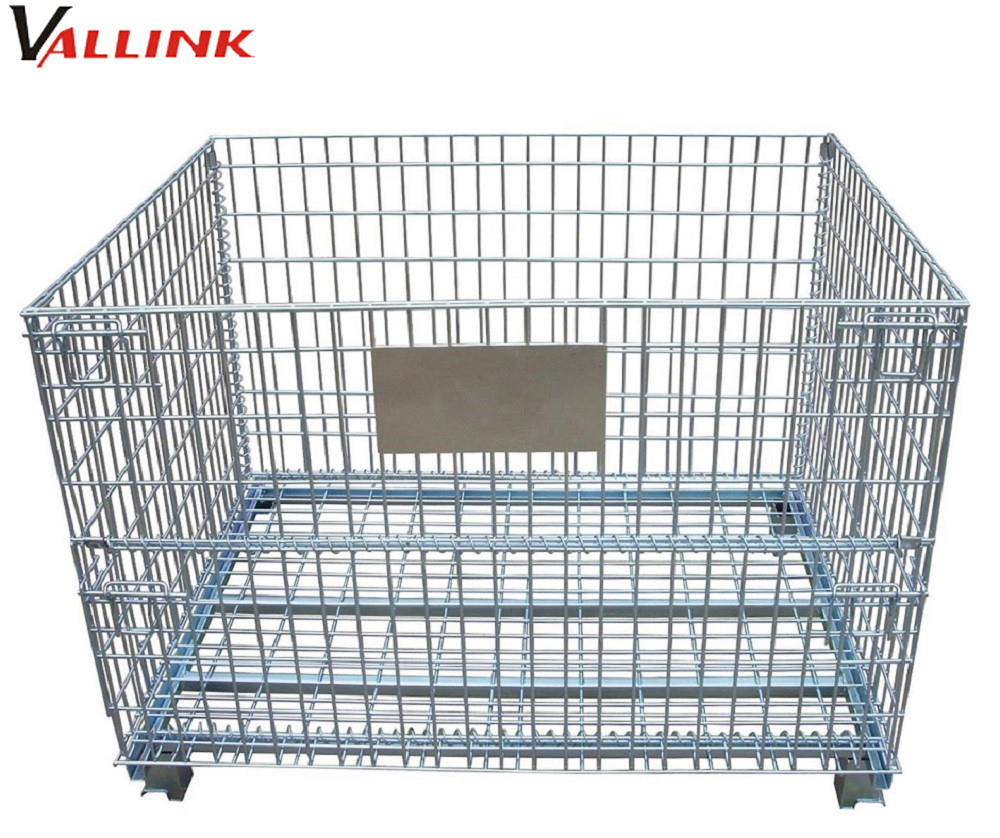 Plastic Pallet Cage, Plastic Pallet Cage Suppliers and Manufacturers ...