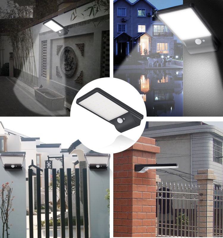 Outdoor Wall Mounted Led Emergency Street Wall Solar Lights Led Solar Camping Light