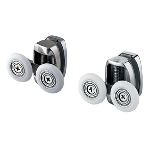 Hardware accessories smooth and silent double stainless steel sliding doors rollers wheels