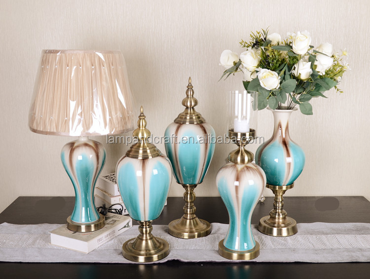 2016 luxury blue glass home decoration items wholesale accessories home decorative items - Blue home decor accessories ...