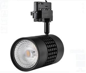 3000k color temperature 35w 2975lm cri85 black finish track head for Juno track system led track light