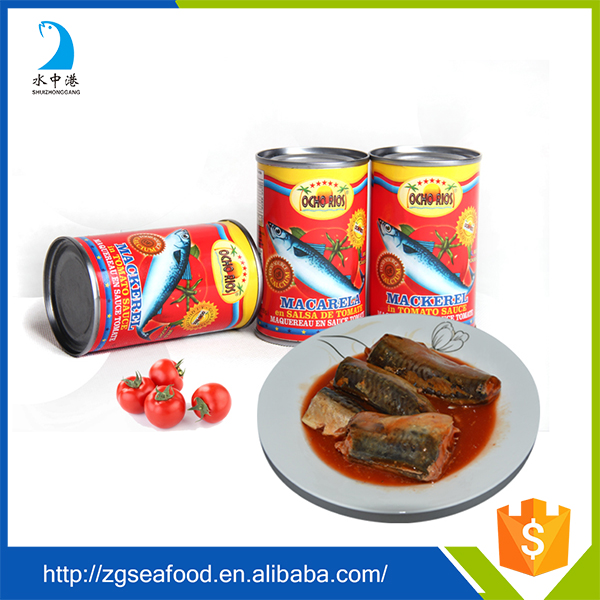 Good taste canned mackerel can food