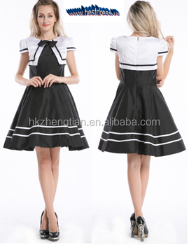 Hot New Vtg 50\'s Retro Sewing Pattern Pin Up Rockabilly Party Dress ...