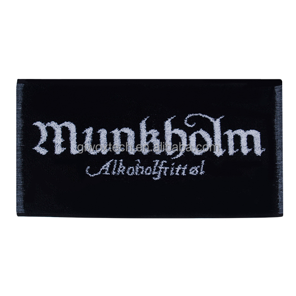 100% cotton custom brand beer bar towels