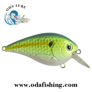 short lip hard lure bodies 60mm/8.8g sexy shad painted crank bait fishing lure
