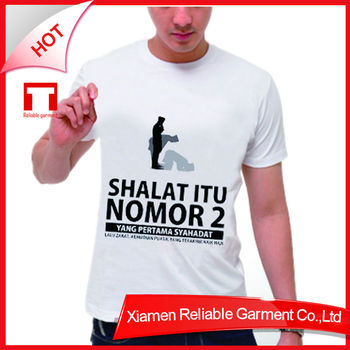 2016 New product 180G 100% cotton custom cheap t shirt printing with good quality