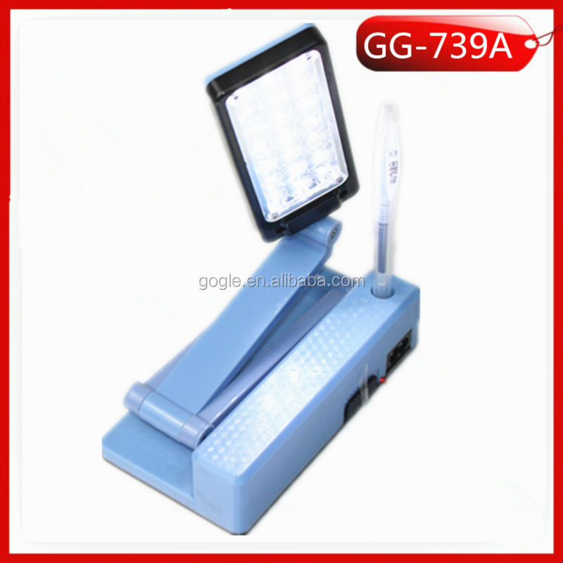 Gg-739a 21 Smd Led Folding Solar Desk Light Reading Light