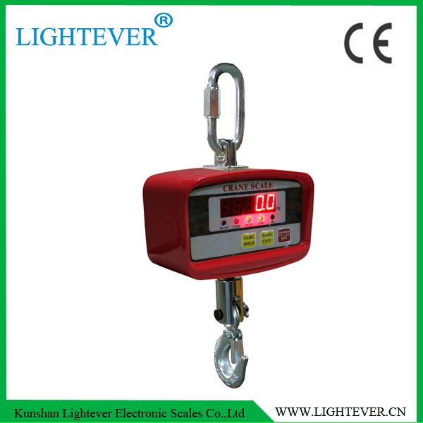 2ton Light Weight Designed LCD Display Crane Scale Weight Electronic