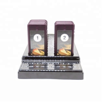 Wireless Nurse Restaurant Waiter Coaster Pager Call Bell paging calling System
