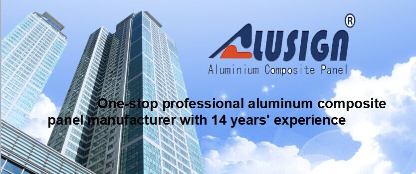 Alusign Excellent Self-cleaning Character Structural Acp China ...