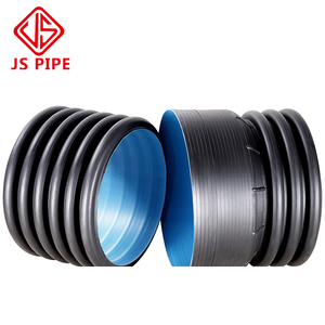 500mm HDPE Corrugated Plastic Drainage Pipe