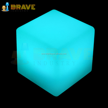 ice led light cube chair