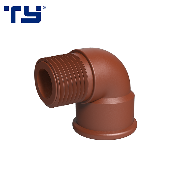 Hot Selling New Products Male Female Threaded Elbow PP Fittings List