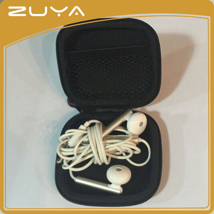 2016 newest EVA case-hardened headphone pocket