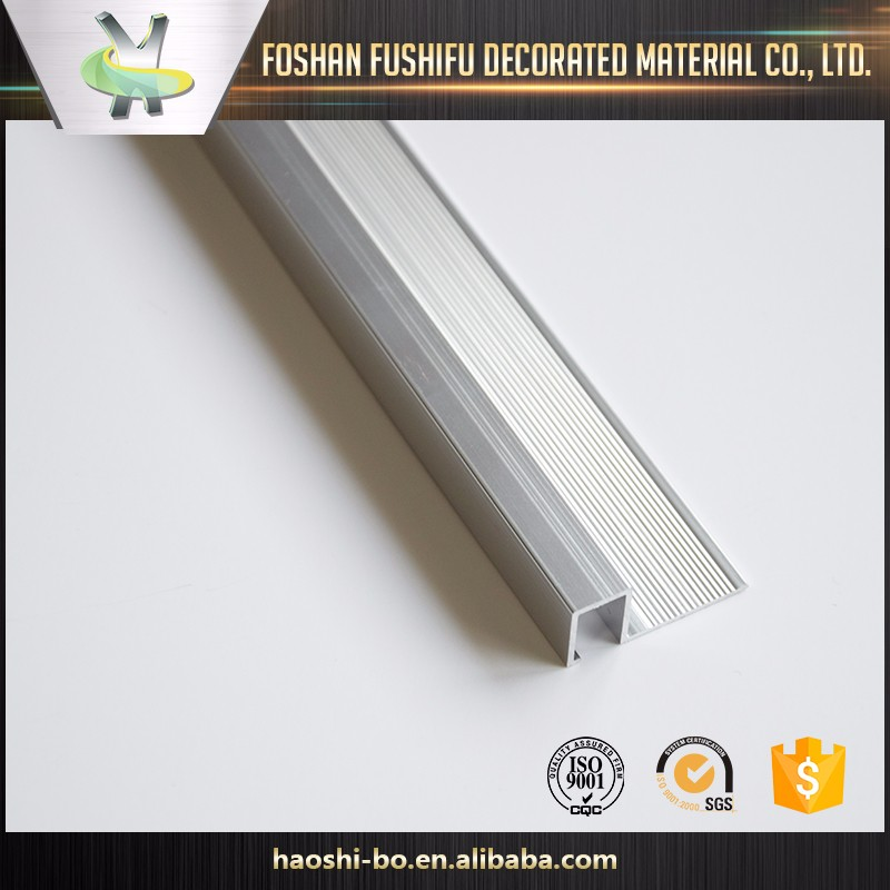 High quality materials ceramic accessories aluminum edge accent tile